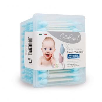 90 Bastoncini Baby Azzurri Linea Blu